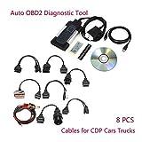 OurLeeme Tcs CDP Pro Plus Diagnose Scanner für Autocom OBD2Diagnostic Werkzeug 8Auto Kabel