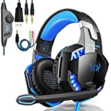 OCDAY Gaming Headset, Headset für PS4 PC Xbox One, Gaming Kopfhörer 3.5mm Surround Sound...