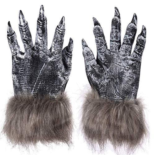 Werwölfen Bilder Kostüm Von - Matedepreso Halloween Werwolf Tatzen Klauen Cosplay Handschuhe Erwachsene Werwolf Hände Handschuhe Cosplay Kostüm Party Zubehör - Wie Bild Show, 2pcs