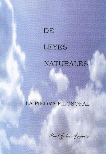 DE LEYES NATURALES     LA PIEDRA FILOSOFAL