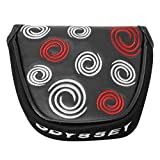 Best Callaway Putters - Odyssey Black Swirl Mallet Putter Cover Review