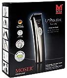 Moser, Jacques Seban Tondeuse Compacte de Finition Professionnelle Secteur/Batterie Li+Pro Mini Type 1584