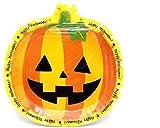Ouken Halloween Plate 6 Stück Kürbis Schale Einweg Tablett