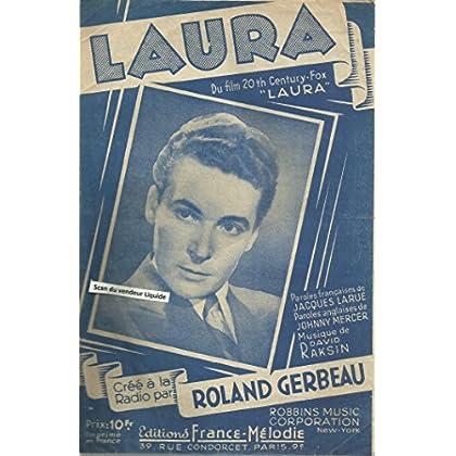 Laura créé à la radio par Roland Gerbeau