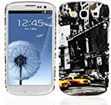Cadorabo - TPU Hard Cover per  Samsung Galaxy S3 / S3 NEO  - Case Cover Involucro Bumper Accessorio in Design: NEW YORK CAB