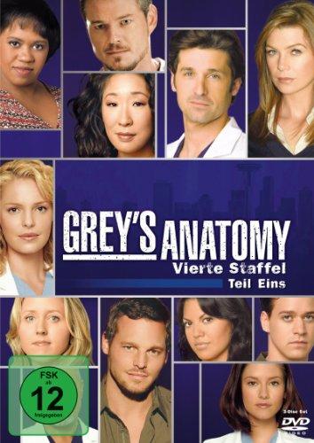 Grey's Anatomy: Die jungen Ärzte - Vierte Staffel, Teil Eins [Alemania] [DVD]