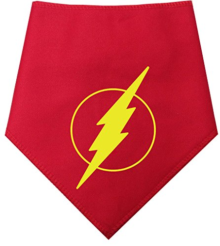 spoilt-rotten-pets-the-flash-flash-gordon-bandana-for-large-dogs-fits-neck-size-23-28-marvel-comic-s