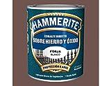 Esmalte Antioxidante Forja DIRECTO AL HIERRO HAMMERITE Marrón 750 Ml.