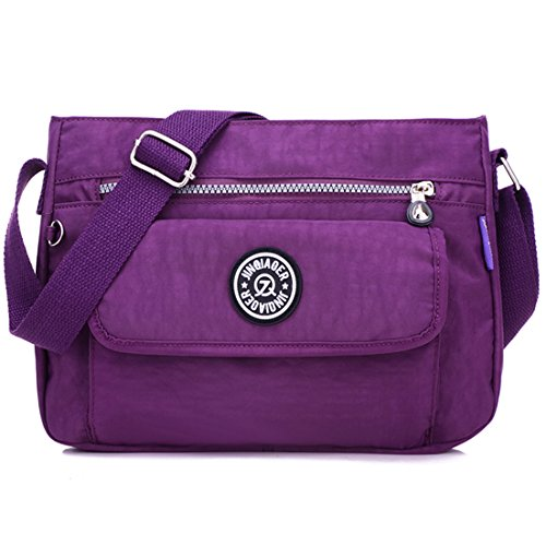 TianHengYi, Borsa a tracolla donna Purple