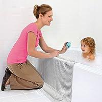 Preisvergleich für Badewanne Anti Rutsch Matte Knie und Ellenbogen Kissen Pad Baby Badewanne kniend Pad mit Ellenbogen Kissen