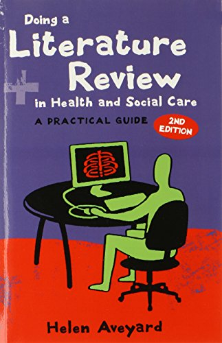 Doing a Literature Review in Health and Social Care Cover Image