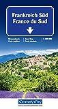 Frankreich Süd Strassenkarte: 1:600 000 mit Sehenswürdigkeiten (Kümmerly+Frey Strassenkarten) -