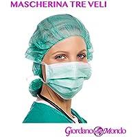 Mundschutz grün 3lagig Einweg 50Stück Maske grün Professionelle medizinische Ästhetik preisvergleich bei billige-tabletten.eu