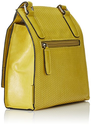 Jost Tallin Ladies Bag With Flap S, Sac de bowling femme Jaune - Yellow (Sulphur)