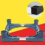 Qiangzi Supporto base regolabile Base Regolabile A Rulli Per Elettrodomestici Per Impieghi Gravosi Lavasciuga A Quadretti Blu Fornelli Congelatori Caricatori Da 500 Kg Per la cucina da bagno ( dimensioni : 1 )
