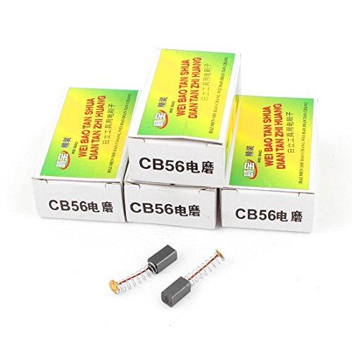 sourcing map 5 Pairs CB56 Motor Carbon Brush 10 x 5 x 5mm for Hitachi Power Tool DE de -