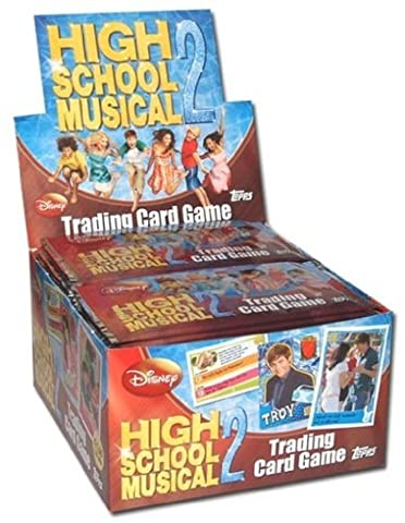 High School Musical 2 Trading Cards - 50 Booster im Display (High School Musical-pack)
