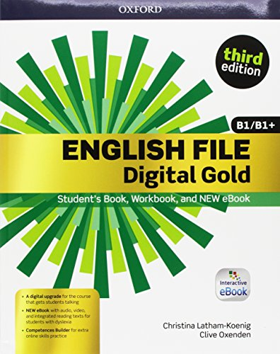 English file gold. B1-B1+ premium. Student's book-Workbook. Per le Scuole superiori. Con e-book. Con espansione online