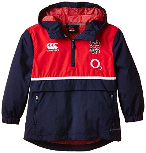 Canterbury Kinder England Wasserabweisend Jacke 10 blau