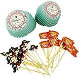 Zenker 42859 - Set de 48 piezas para decorar cupcakes