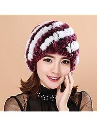 Sciarpe Xiaolin- di Mezza età Cappello Inverno Cappello di Mamma Tenere  Caldo Linguetta Cappello Freddo e388dff7e531