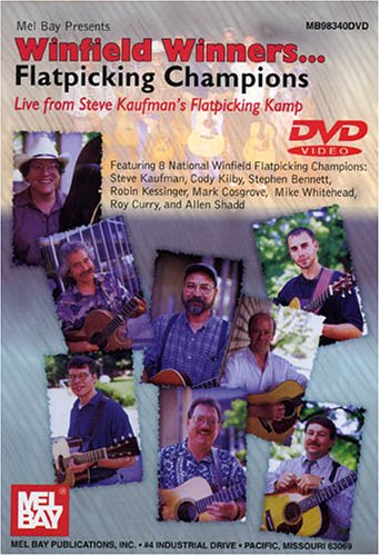 WINFIELD WINNERS: FLATPICKING CHAMPIONS LIVE REINO UNIDO DVD