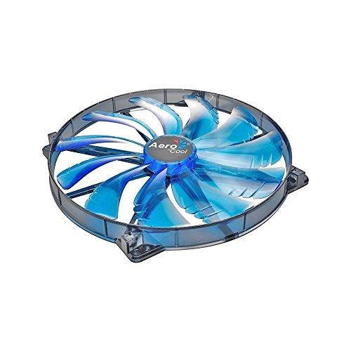 aerocool-silent-master-ventilateur-avec-led-noir-200-mm-import-allemagne
