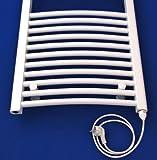 Heizkörper Badheizkörper Handtuchwärmer rein elektrisch ELEKTRO gebogen alle Größen - 4