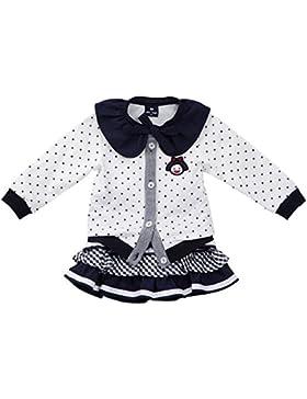 E-SHINE CO Coat Kleine Mädchen und Tutu-Kuchen-Kleid Sets Strick