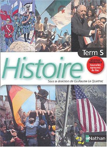 Histoire Tle S