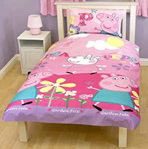 peppa pig bedroom peppa pig adorable single duvet set quilt cover bedding 12817