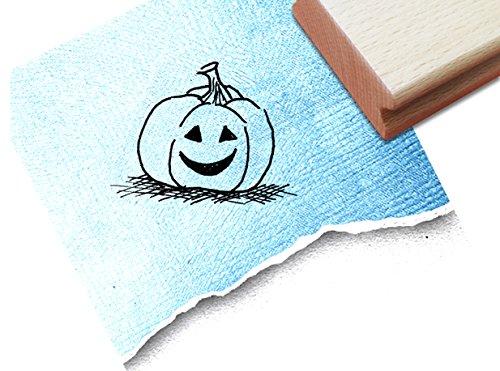 inderstempel Motivstempel Halloweenstempel - lustiger Kürbis - Bilderstempel zum Ausmalen für Kita - Kinderzimmer - Schule und Beruf (Drucken Malvorlagen Halloween)
