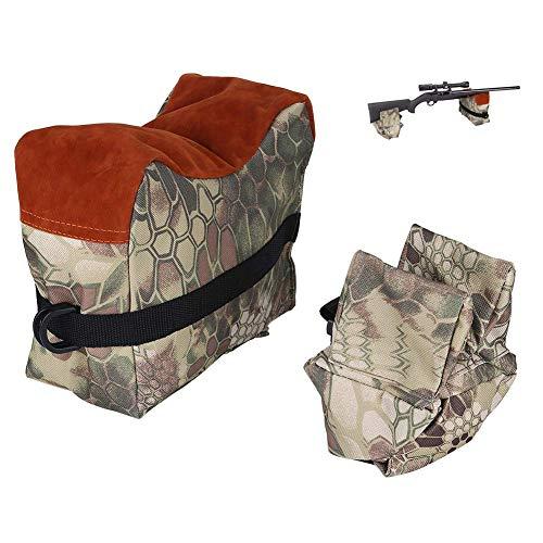 Shooting Rest Bag 2 Pcs Air Gun Front and Rear Rest Bench Bag -