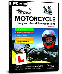 Complete Motorcycle Theory and Hazard Perception Tests 2013/14 Edition (PC)