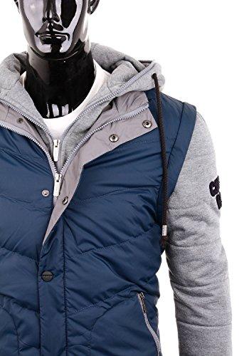 Cipo & Baxx Herrenjacke Winterjacke C-44701 Blau