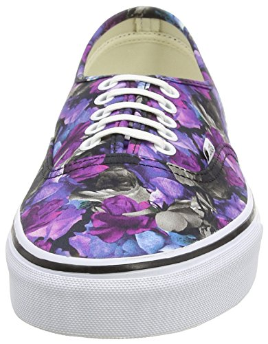 Vans U Authentic Lo Pro Scarpe Sportive, Unisex Adulto Black (Digi Floral - Multi/True White)