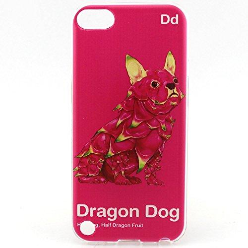Voguecase® Pour Apple iPhone 6/6S 4.7, TPU Silicone Shell Housse Coque Étui Case Cover (Chat/ECG)+ Gratuit stylet l'écran aléatoire universelle Dragon Dog