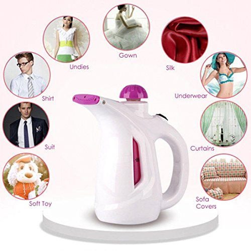 Stvin New Electric Garment Facial Steamer Brush for Ironing Clothes Portable Multifunction Pots Steam Face (Colour May Vary)
