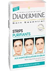 Diadermine - Strips Purifiants - 6 Strips anti points noirs et impuretés