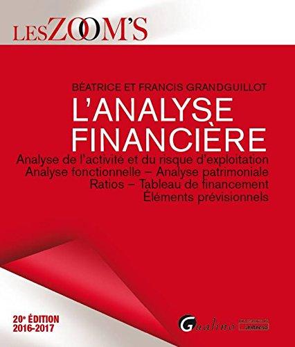 L'Analyse financière 2016-2017