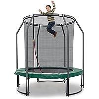 Ampel 24 Deluxe Outdoor Trampolin 183 cm komplett mit Netz | Sicherheitsnetz innenliegend | Gartentrampolin mit mehr Sicherheit | Belastbarkeit 120 kg