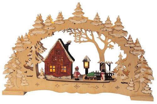 Weihnachtsdekoration Jute Seil