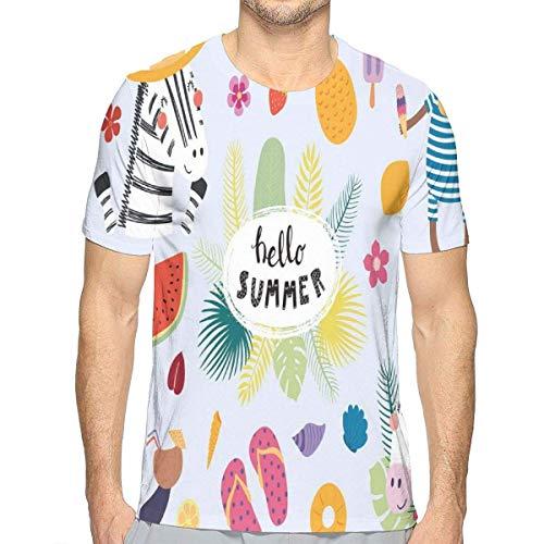 3D gedruckte T-Shirts, Flipflops-Seeoberteile Sunny Days Monkey in einem Badeanzug klar Monkey Telefon