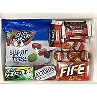 Caja de variedad sin azúcar Kurious Kandy | Selección de caja de regalo sin azúcar | 6 artículos en una caja de regalo amistosa Kurious Kandy Letterbox.