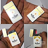 #10: Luxury Designer Metal Refillable Windproof Cigarette Gas Lighter for Men & Women