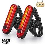 511N90U02uL. SS150 Nestling Luce Posteriore Bici USB Ricaricabile, luci Anteriori potenti per Biciclette LED, IP65 Impermeabile con 4…