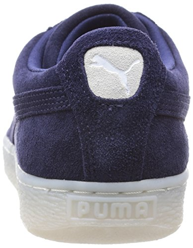 PumaClassic Col - Scarpe da Ginnastica Basse Donna Blu Bianco