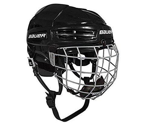 Bauer IMS 5.0 Helm Combo Senior, Größe:S;Farbe:schwarz -