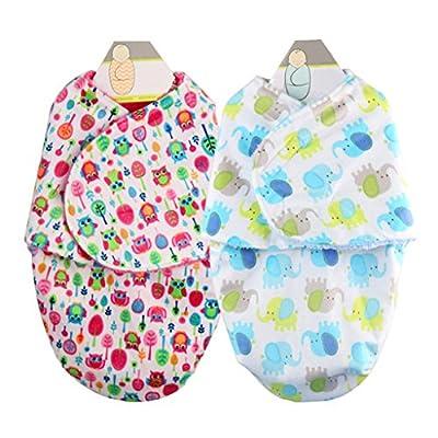 Mantas de Bebé Saco de Dormir Swaddle Blanket Dormir Bebé de Franela Confortable