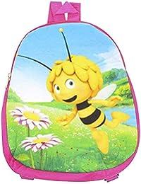 Preisvergleich für Biene Maja Kinder Rucksack Rosa Bunt 32,5 x 27 cm Kindergarten Schule Freizeit